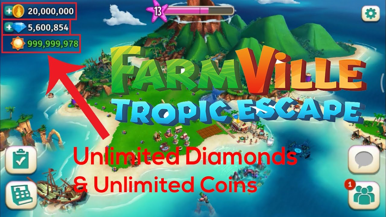 trucchi gratis farmville tropic escape