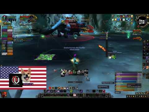Invective vs Mythic Fetid - Affliction Warlock POV