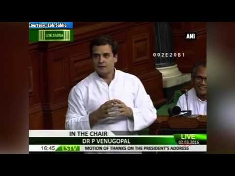 Highlights of Rahul Gandhi's scathing attack on Modi