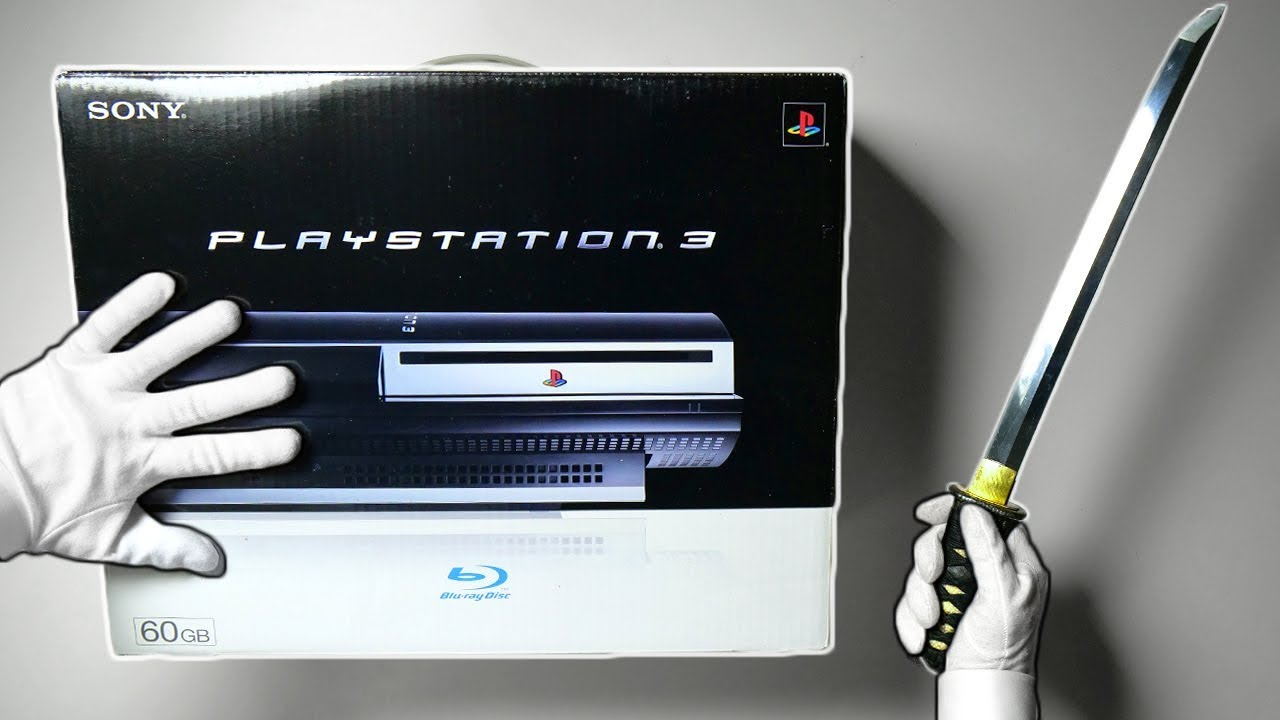 PS3 UNBOXING! Original Playstation 3 Fat Console 60GB PS2 Backwards  Compatible