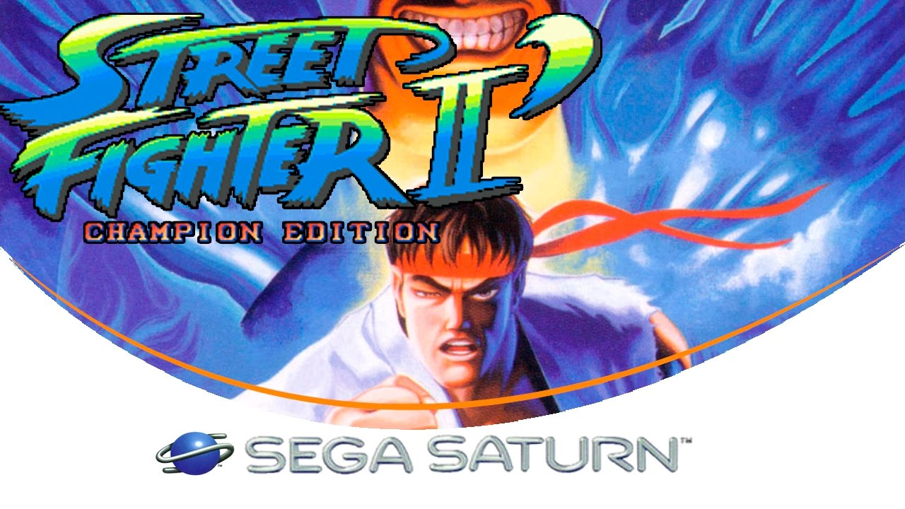 Street Fighter Ii Champion Edition Sega Saturn Youtube