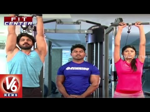Fit Center | Trainer Venkat Fitness Tips | Workout Without Equipment | Triceps | V6 News