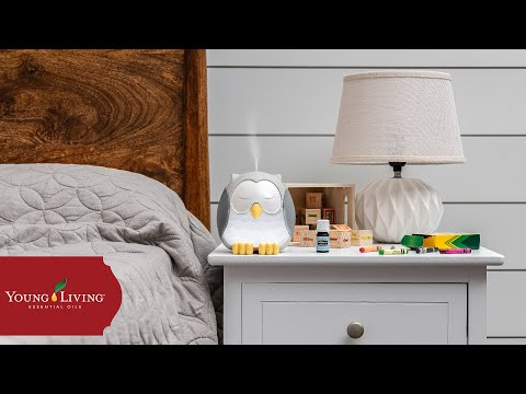 how-to-use-your-feather-the-owl-diffuser-|-young-living-essential-oils