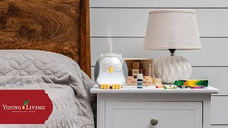 How to Use Your Feather the Owl Diffuser | Young Living Essential Oils