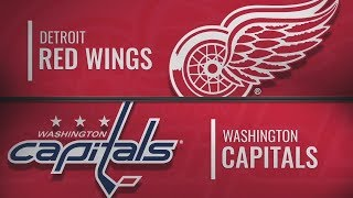 Вашингтон vs Детройт | Detroit Red Wings at Washington Capitals | NHL HIGHLIGHTS | НХЛ ОБЗОР МАТЧА
