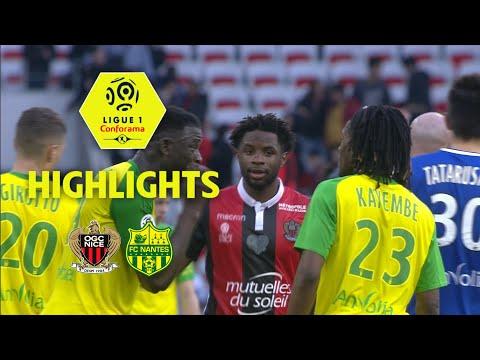 OGC Nice - FC Nantes (1-1) - Highlights - (OGCN - FCN) / 2017-18