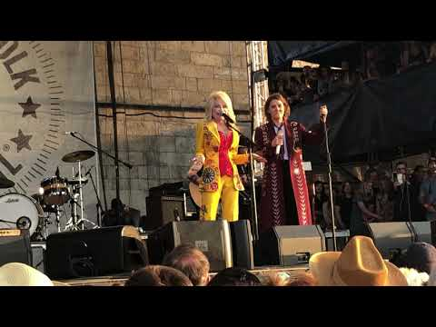 Ginger - Dolly & Brandi at Newport Folk Festival