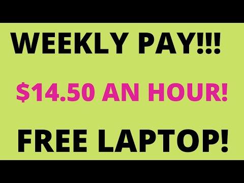 URGENT HIRE! WEEKLY PAY ~ $14.50 AN HOUR~ FREE LAPTOP!  #k12 #teachers #tutors