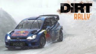 DiRT Rally | Winter Wonderland | Sweden | VW Polo R WRC