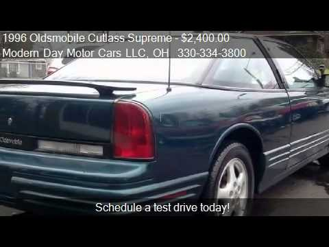 Wadsworth Motor Cars >> 1996 Oldsmobile Cutlass Supreme Series I coupe - for sale in - YouTube