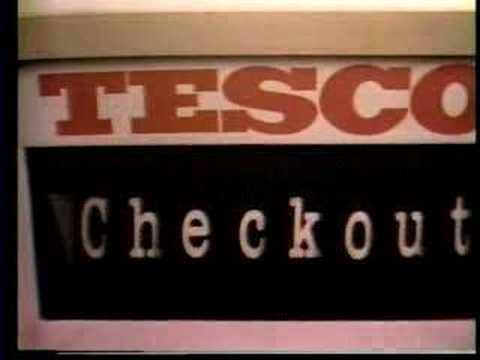 Old Tesco Advert from 1977 - Checkout Groceries