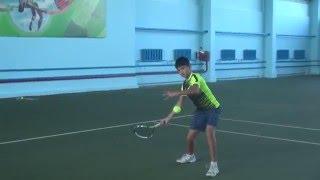 Теннис. Дневник тренировок. 11.