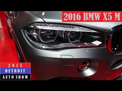 2016 BMW X5 M - 2015 Detroit Auto Show (Live Photos)