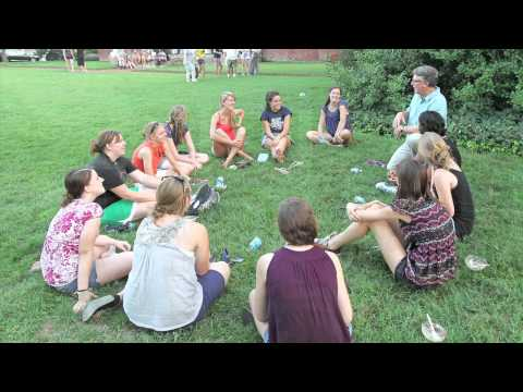 Freshmen orientation at UMW