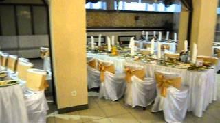 Оформление свадьбы в золотом цвете, Минск