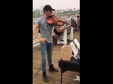Santa Monica pier talent
