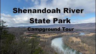 Shenandoah River State Pąrk VA Campground Tour