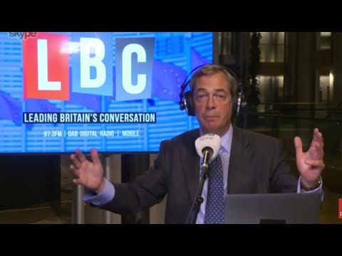 The Nigel Farage Show: E.U Juncker / Do you regret voting for Brexit? Live LBC - 13th Sept 2017