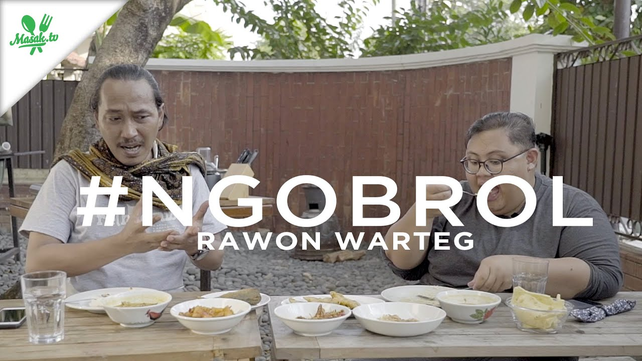 NGOBROL Rawon Warteg | Kenapa Rawon Warteg tidak hitam?