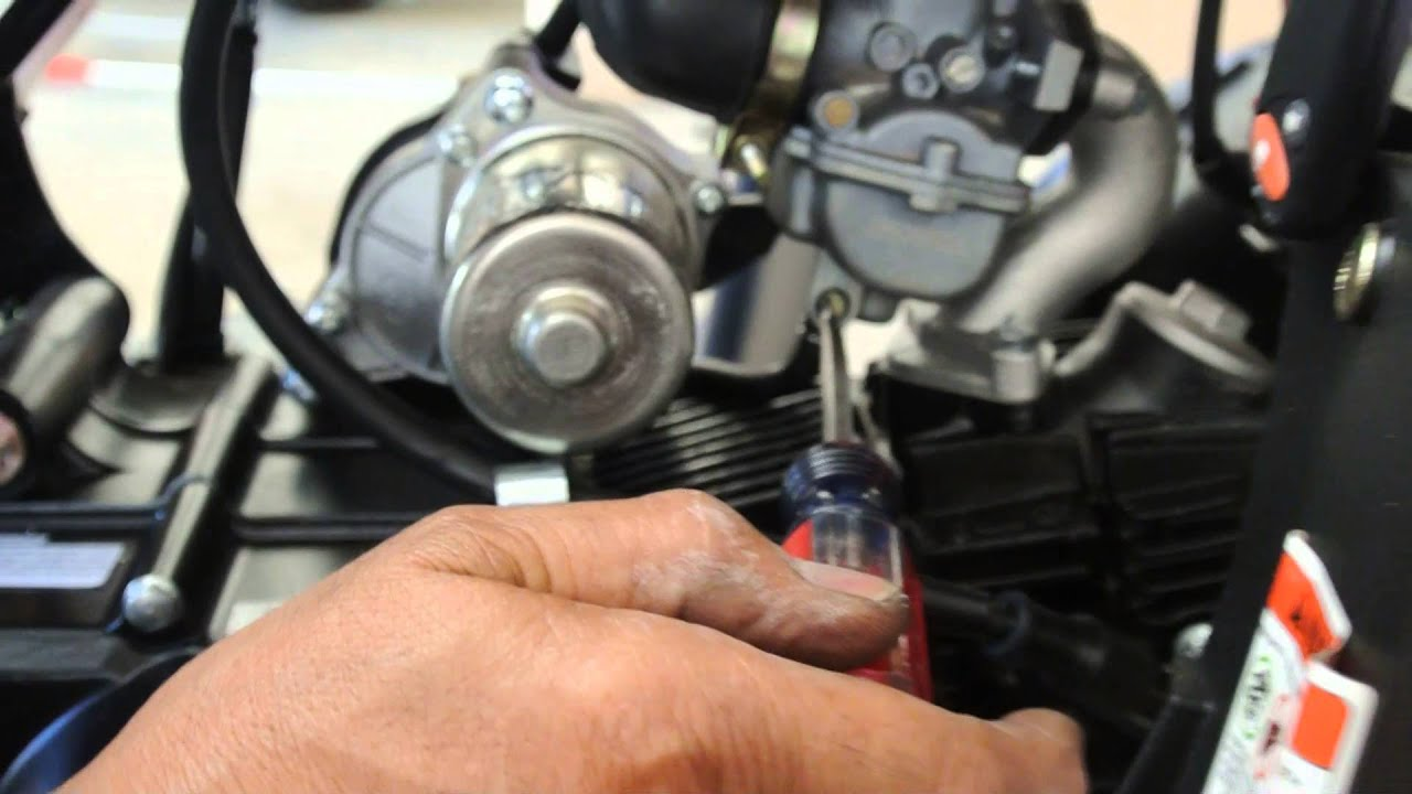 Carburetor Drain Plug On Atv