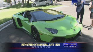 MotorTrend International Auto Show in Vegas
