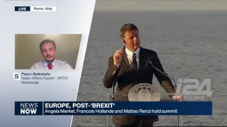 I24news: Interviewing Italy
