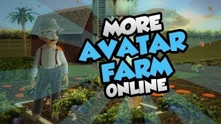 Lets Play More Avatar Farm Online! - Planting More Crops! - Xbox 360 Indie Marketplace Game