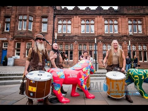 Clanadonia perform for the Pride of Paisley