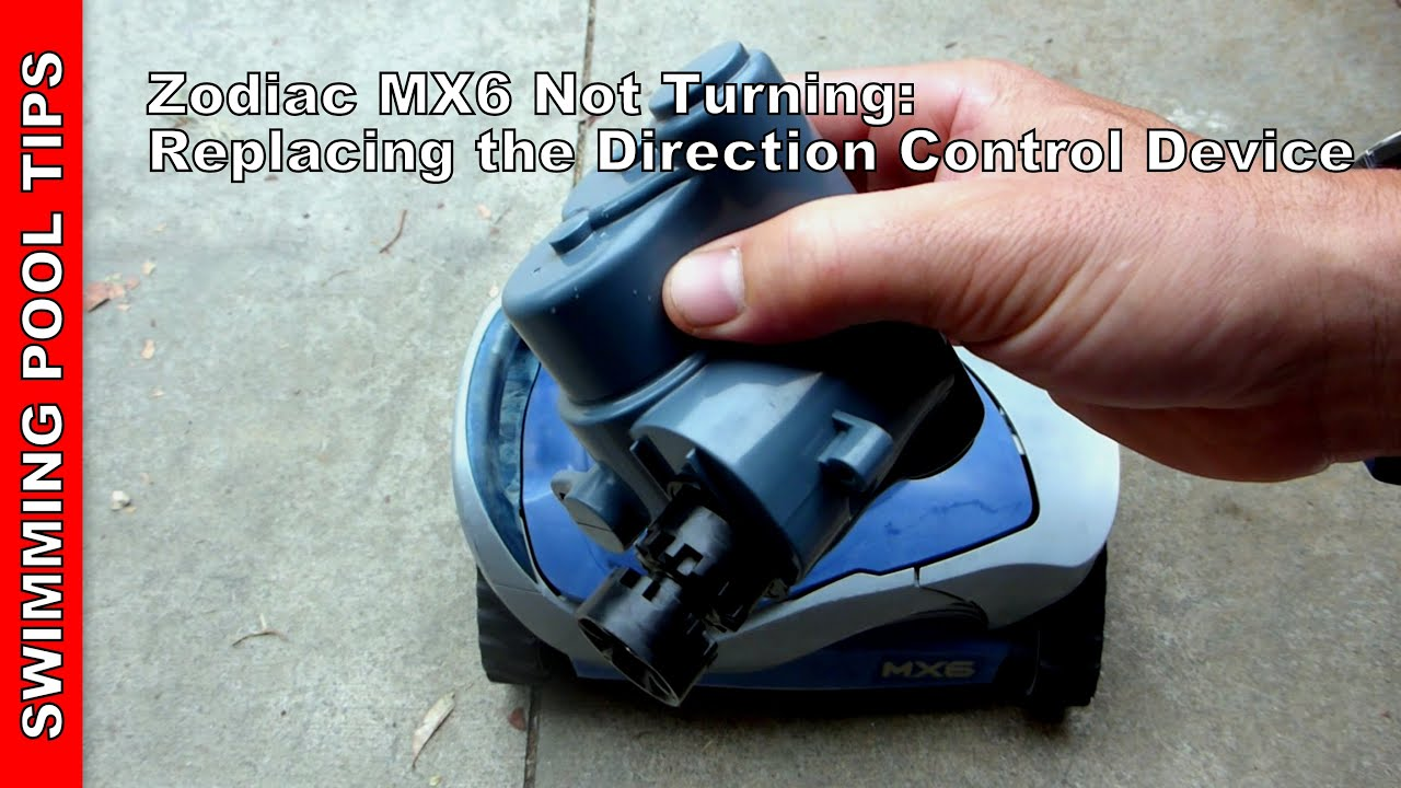 Zodiac MX6 Not Turning: Replacing the Direction Control Device - Side A