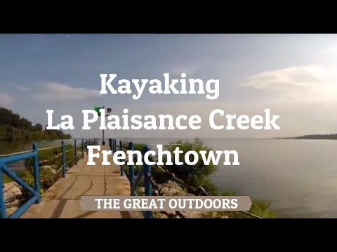 Kayaking La Plaisance Creek, Frenchtown Charter Township, Monroe County, MI [HD] 22 min