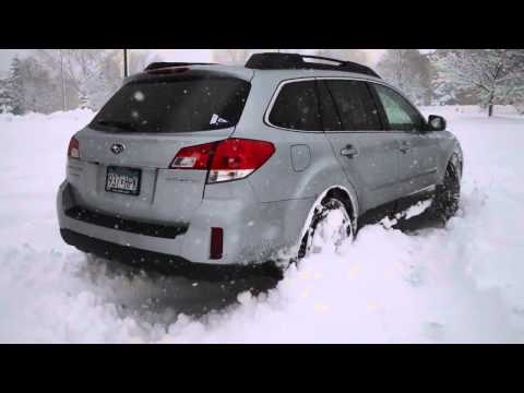 Winter Storm in the 2012 Subaru Outback!