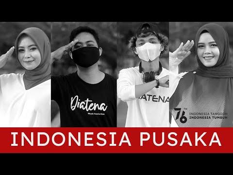 Diatena Feat Lesny U0026 Citra Handayani - Indonesia Pusaka (Cover) HUT RI 76