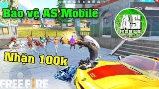 [Free Fire] Bảo Vệ AS Mobile Sống Sót Chiến Thắng Để Nhận 100K | Meow DGame