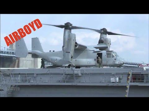 Flight Operations USS Somerset (LPD-25)