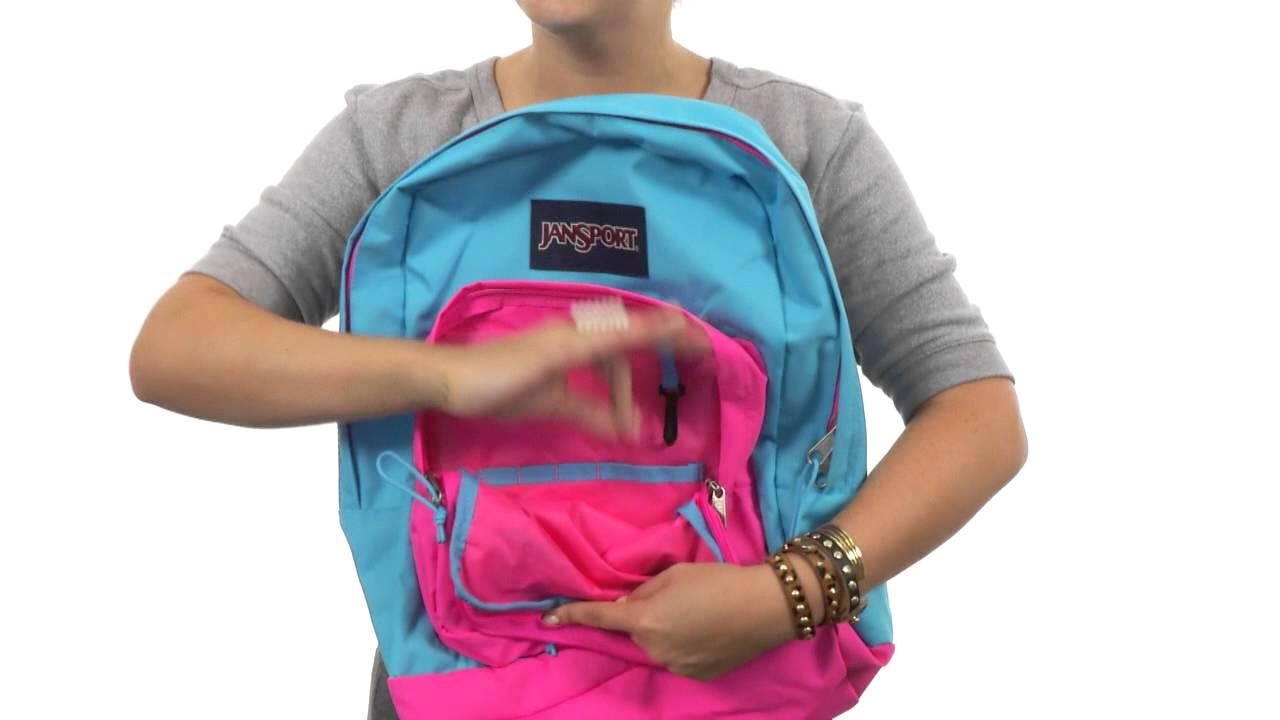 JanSport City Scout Backpack SKU  8355436 - YouTube aaada9765d163