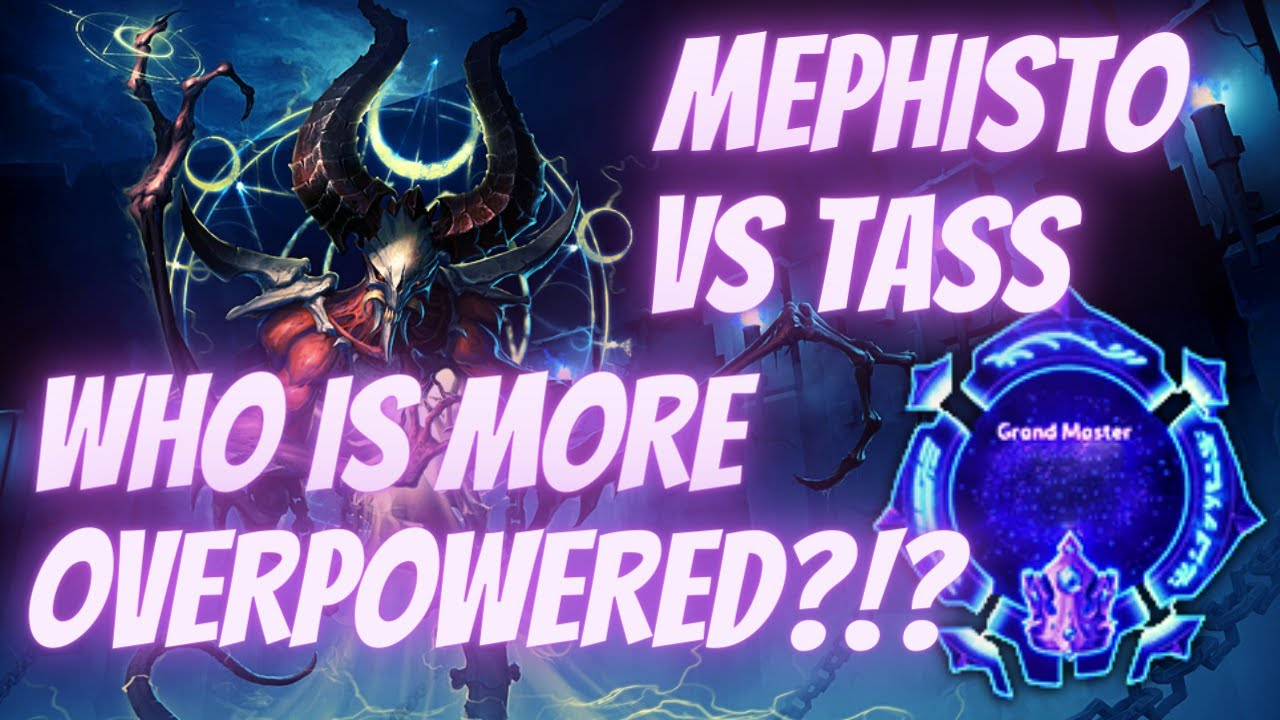 Mephisto Durance - Mephisto vs Tassadar OP MAGE OFF! -  Grandmaster Storm League
