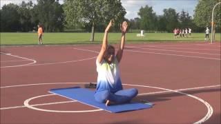 Third International Day of Yoga with Vidya Nahar - 2017