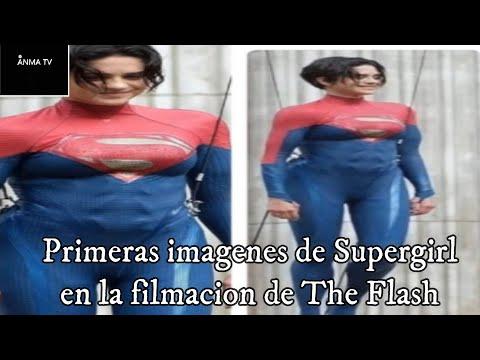 Se muestran las primeras imagenes de Supergirl de Sasha Cale en The Flash de Warner y reacciones.