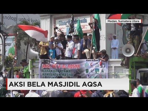 Aksi Bela Masjidil Aqsa - Konflik Israel-Palestina
