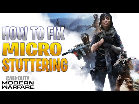 How To FIX Micro Stuttering In Modern Warfare (and Other Games)
