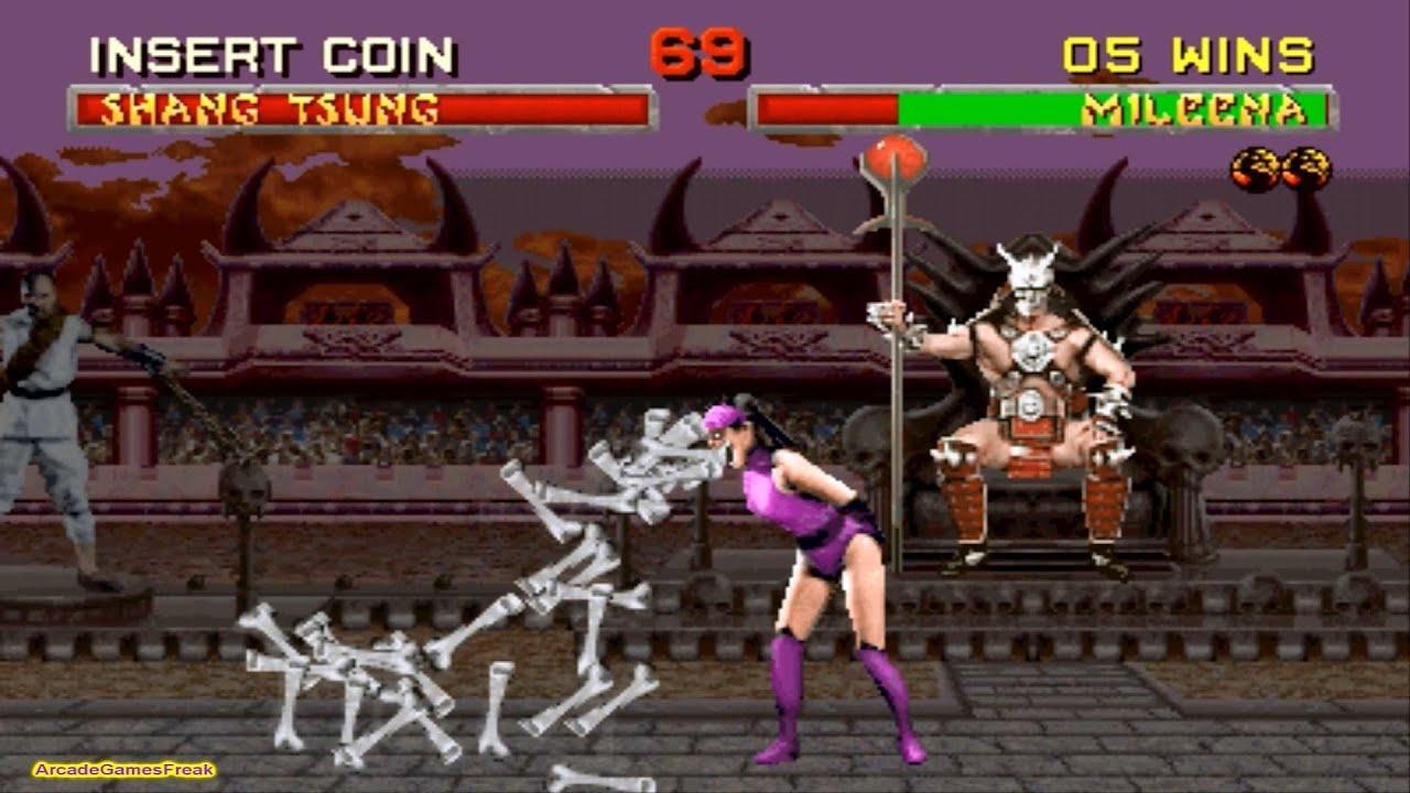 Download Mortal Kombat 2 arcade Mileena Gameplay Playthrough