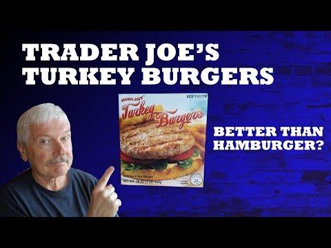 Trader Joe's Low Carb Turkey Burgers Review