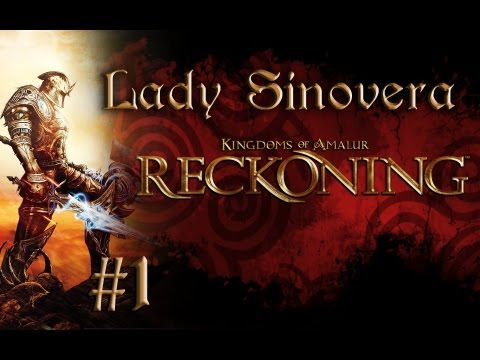 Let's Play Kingdoms of Amalur: Reckoning: Part 1