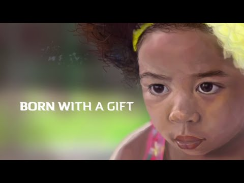 Born With a Gift – HQ Photoshop [PSD]  Digital Painting – 2016