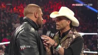 HHH HBK HEYMAN & LESNAR SEGMENT ON WWE RAW 1ST APRIL 2013