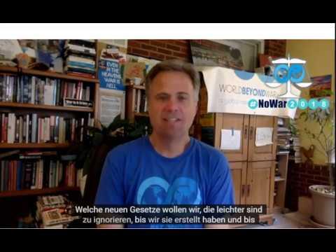 World BEYOND War Konferenz #NoWar2018 am 21.-22.9. Toronto / Livestream in Berlin