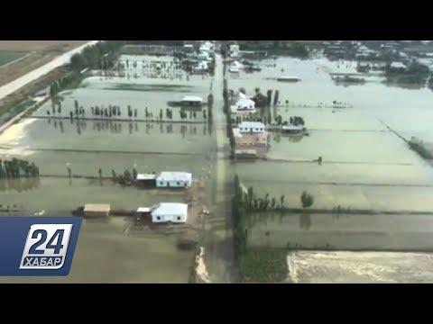 Более пяти тысяч жителей эвакуировали в Мактааральском районе из-за прорыва дамбы в Узбекистане