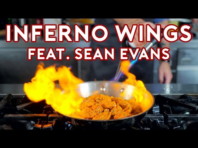 Binging with Babish: Inferno Wing Challenge from Regular Show