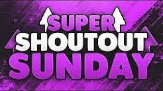Super Shoutout Sunday #2 - Gain active subscribers