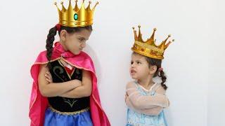 السا ضد انا ! مسابقة ملكة الجمال ! sewar pretend play a beauty contest